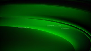 Cool Green Wave Background Illustrator