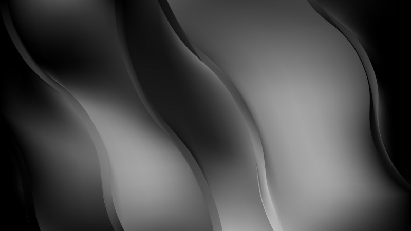 Cool Grey Wave Background Graphic