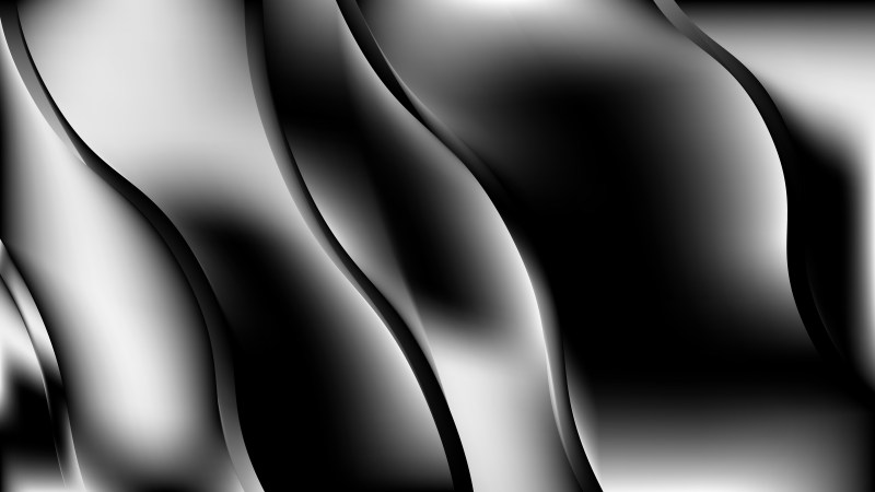 Abstract Cool Grey Wavy Background Design