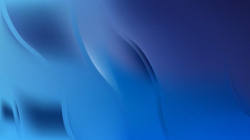 Abstract Dark Blue Wavy Background