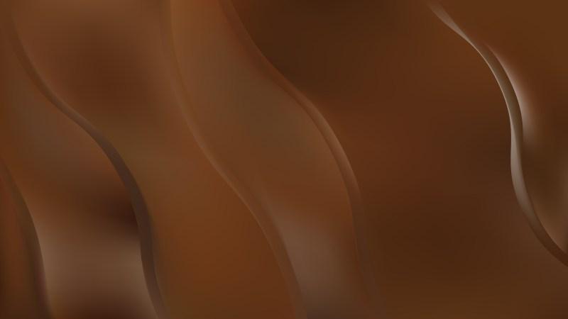 Dark Brown Curve Background