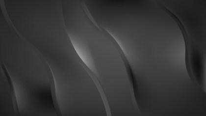 Dark Grey Wavy Background