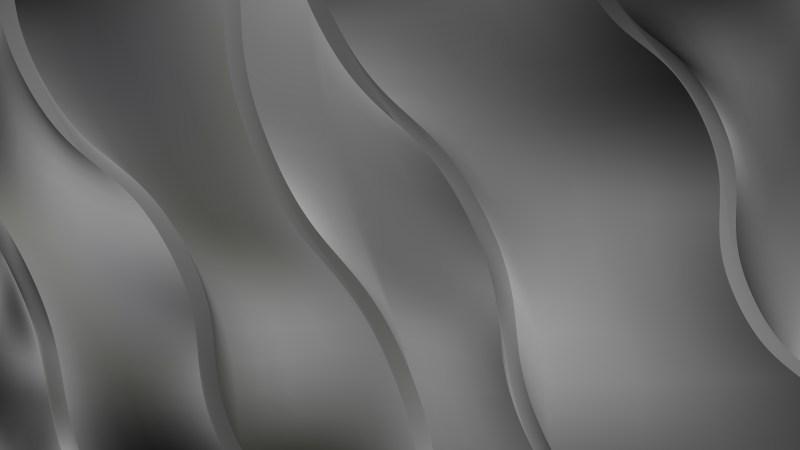 Dark Grey Curve Background Design