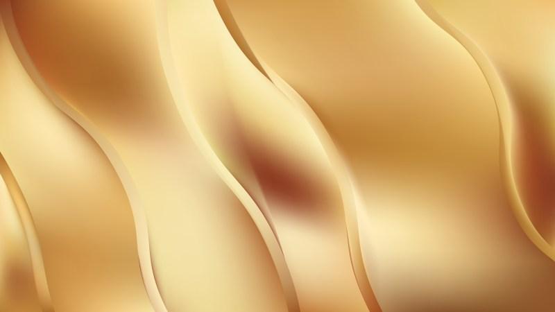 Gold Wave Background