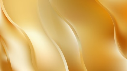 Abstract Gold Wavy Background