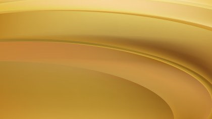 Gold Wavy Background Vector Art