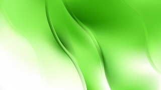 Green and White Abstract Curve Background Vector Art