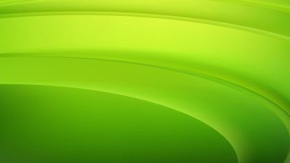 Abstract Green and Yellow Curve Background Vector Image