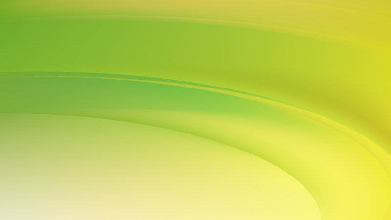 Green and Yellow Wavy Background Vector Illustration