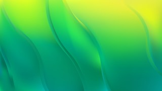 Green and Yellow Curve Background Vector