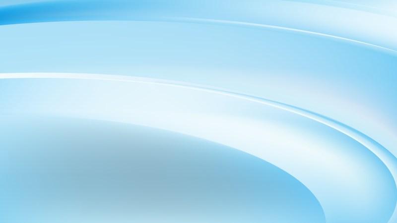 Light Blue Wave Background