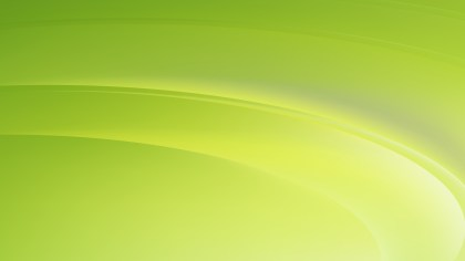Abstract Lime Green Wave Background