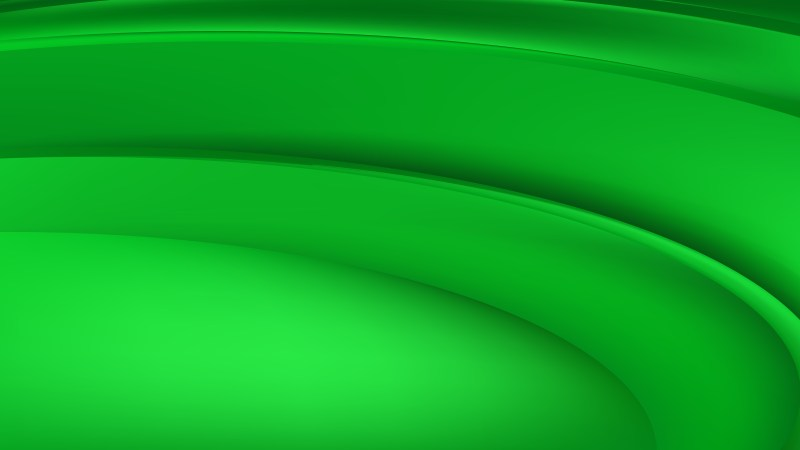 Neon Green Abstract Curve Background