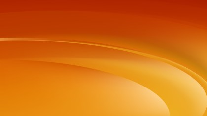 Orange Abstract Curve Background Vector Illustration