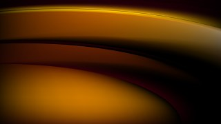 Abstract Orange and Black Wavy Background