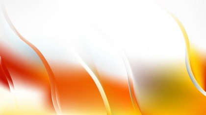 Abstract Orange and White Curve Background
