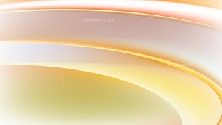 Abstract Orange and White Wave Background Vector Illustration