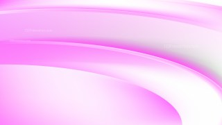 Pink and White Abstract Wave Background