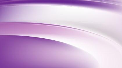 Purple and White Wavy Background Illustration