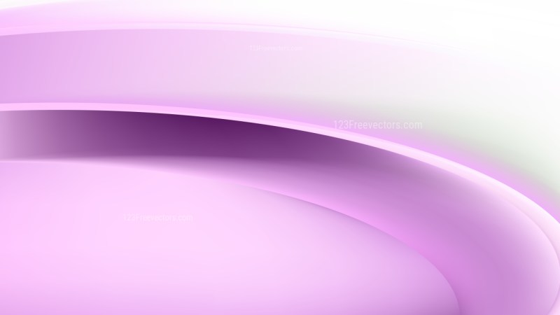 Purple and White Curve Background Design