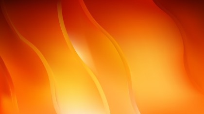 Abstract Red and Orange Curve Background