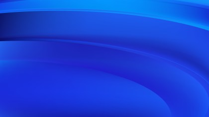 Royal Blue Abstract Wave Background