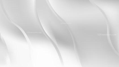 White Wavy Background