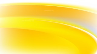 Abstract Yellow and White Wave Background Vector Art