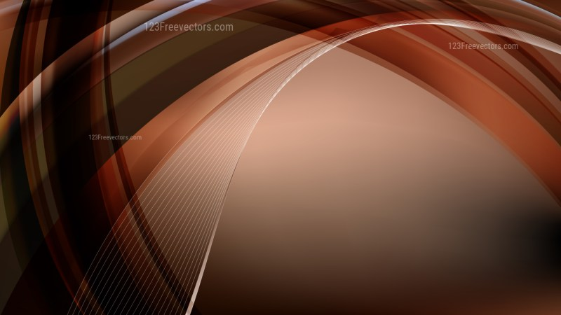 Black and Brown Curve Background