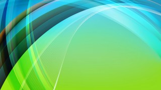 Abstract Black Blue and Green Curve Background Image