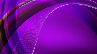 Bright Purple Curved Background