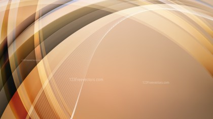 Brown Curved Background