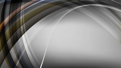 Dark Grey Curved Background Vector