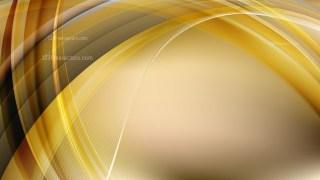 Abstract Dark Orange Curve Background Vector Art
