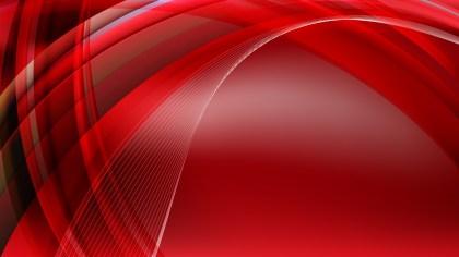 Dark Red Curved Background Graphic