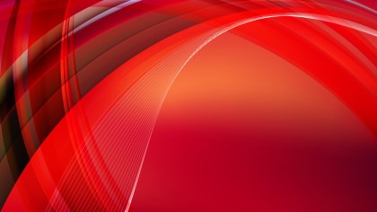 Abstract Dark Red Waves Curved Lines Background