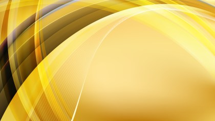 Gold Curved Lines Background