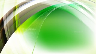 Green Black and White Curved Background