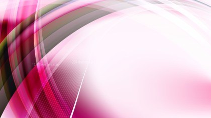 Abstract Pink Black and White Curve Background Illustration
