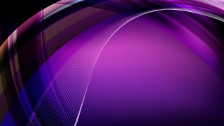 Purple and Black Curved Lines Background
