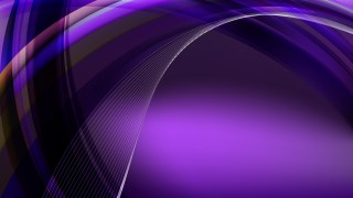 Purple and Black Waves Curved Lines Background