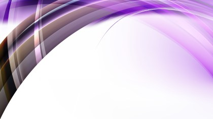 Abstract Purple Black and White Curved Background Illustrator
