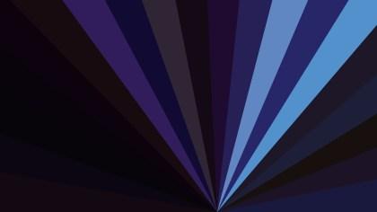 Black and Blue Radial Background Design