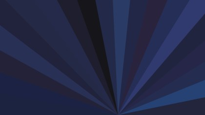 Black and Blue Radial Stripes Background Vector Graphic