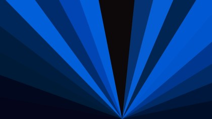 Abstract Black and Blue Radial Burst Background Image