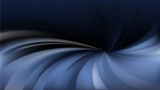 Black and Blue Radial Swirling Stripes Background Design