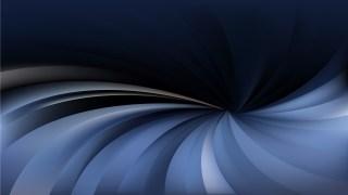 Black and Blue Radial Swirling Stripes Background Design