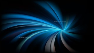 Abstract Black and Blue Twist Swirl Rays Background