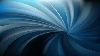 Abstract Black and Blue Twisted swirl Background