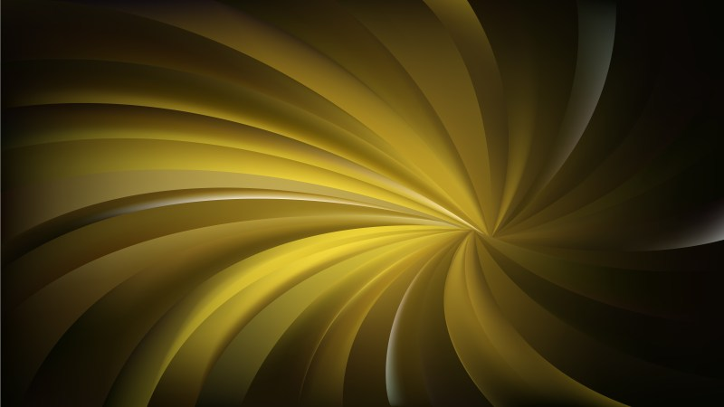 Abstract Black and Gold Swirl Background